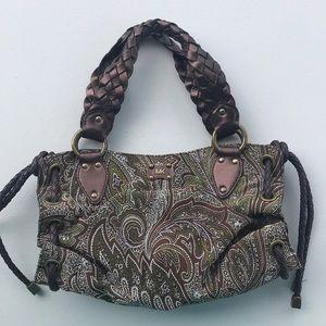 EUC MICHAEL KORS paisley handbag